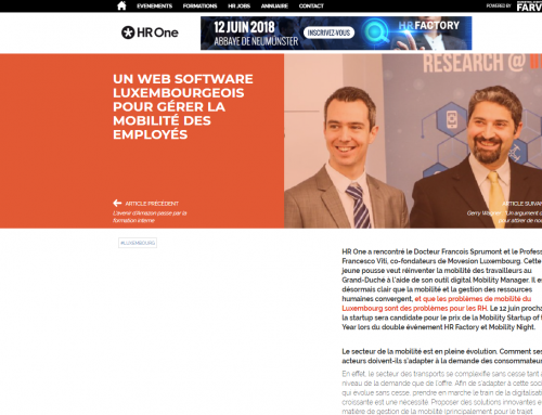 A Luxemburgish Software Web to manage Employee Mobility!